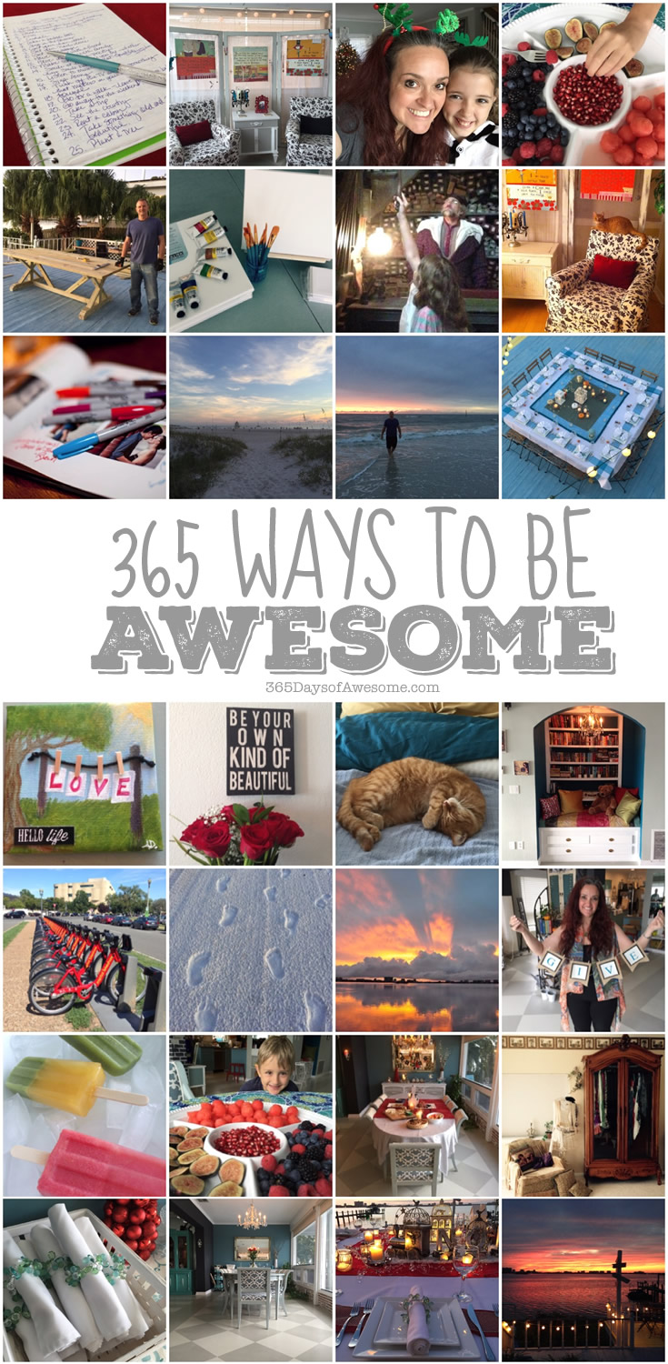 365 Ways to Be AWESOME - A Manifesto.
