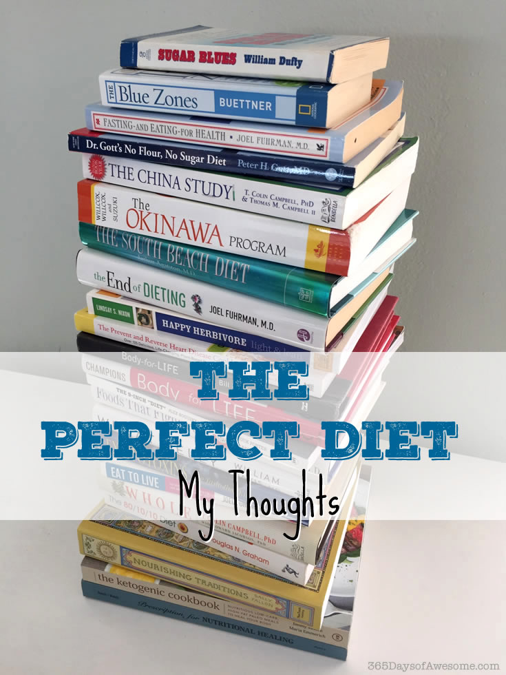 The Perfect Diet: My Thoughts