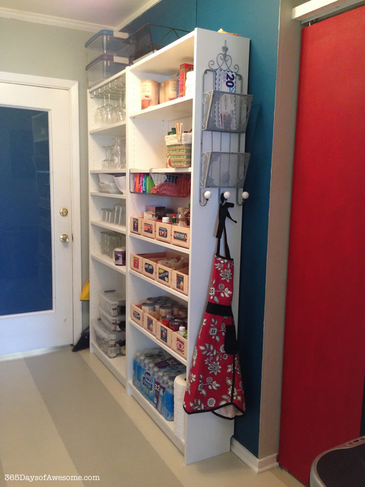 My pantry makeover after.