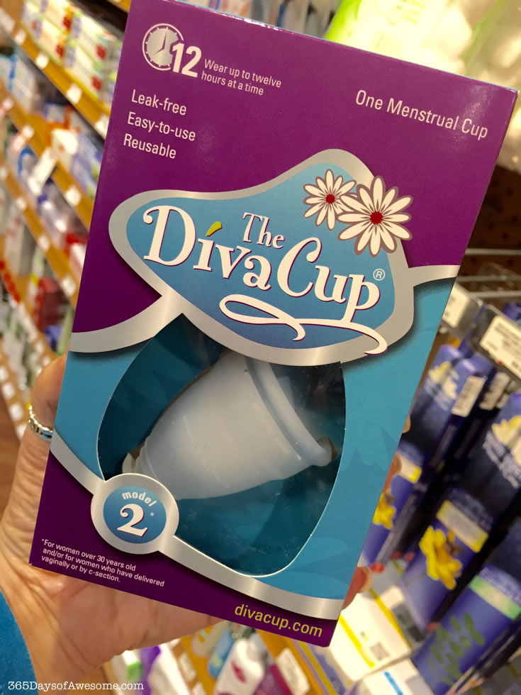 Diva Cup Menstrual Cup - an awesome alternative to tampons. Better for women AND the environment.